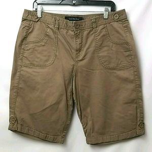 Calvin Calvin Klein Dark Tan Shorts Sz 12